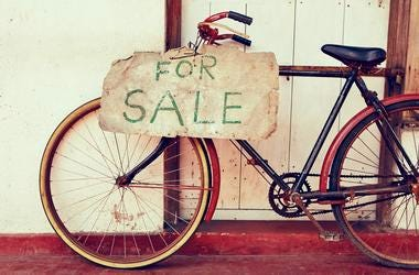 Donate your old bikes in Rockville.
