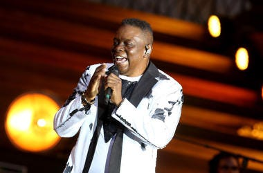 Philip Bailey held a master class for D.C. students.