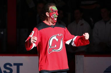 Seinfeld's David Puddy, played by actor Patrick Warburton