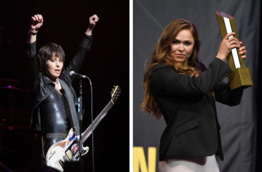 Joan Jett and Ronda Rousey