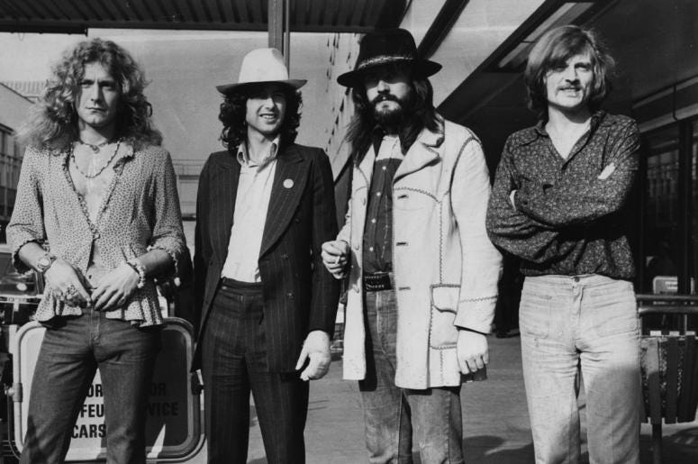 Led Zeppelin is releasing a documentary.