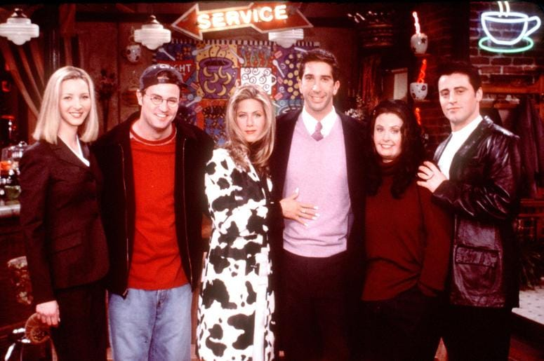 """""""Friends"""" will not see a television revival."""