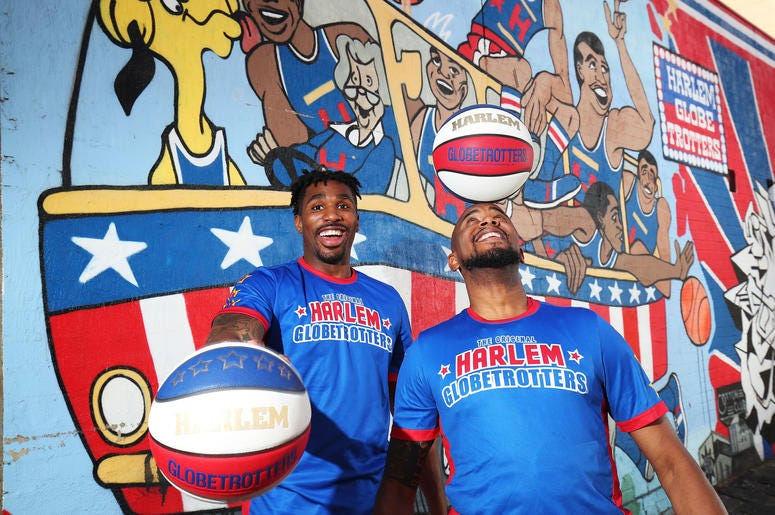 The Harlem Globetrotters are headed to Virginia!