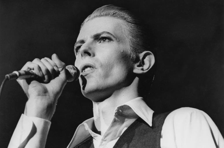 Listen to the latest sounds from David Bowie's 97 twist on a favorite.