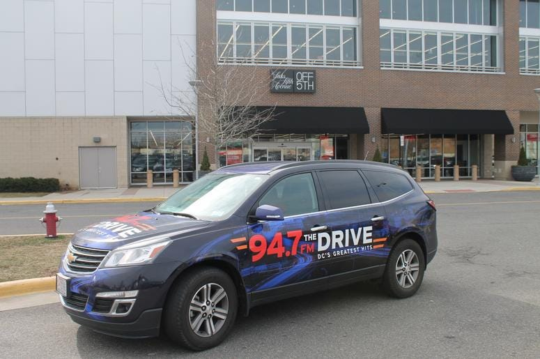94.7 The Drive Street Team hit the streets for radio lovers!