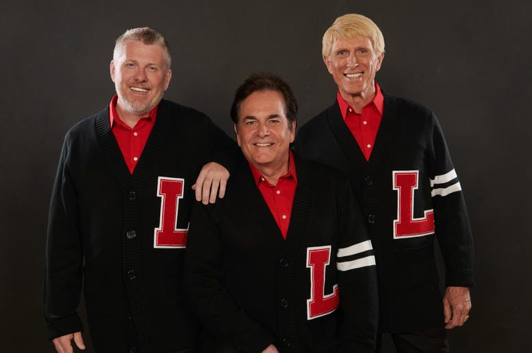 The Lettermen In Sweaters