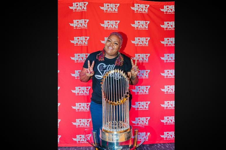 WPGC'S Poet loved that trophy magic.