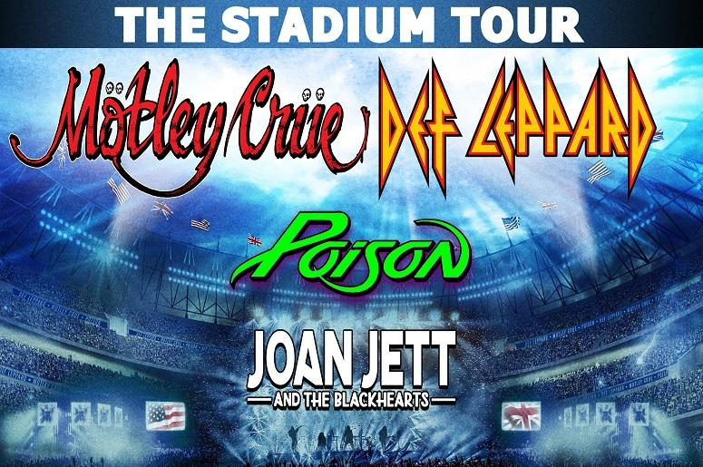Motley Crue and Def Leppard