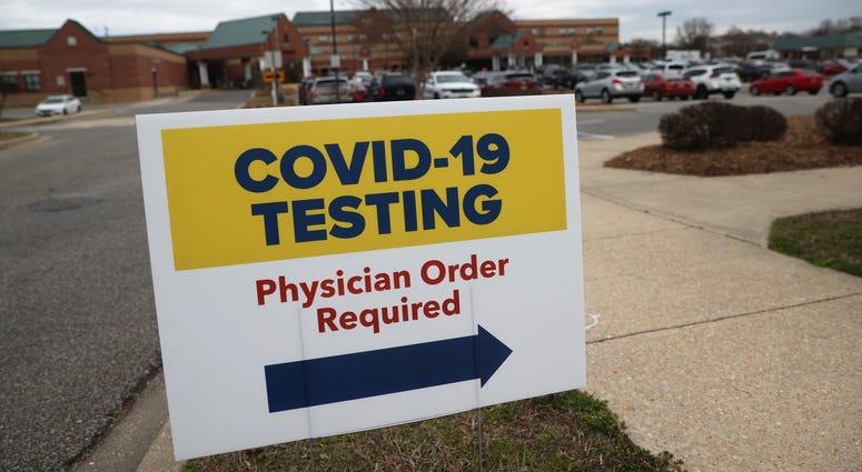 Covid Testing site