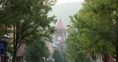 Jim Thorpe, PA, USA; Jim Thorpe, Pa., is now thriving on tourism, including hiking, biking and whitewater rafting.