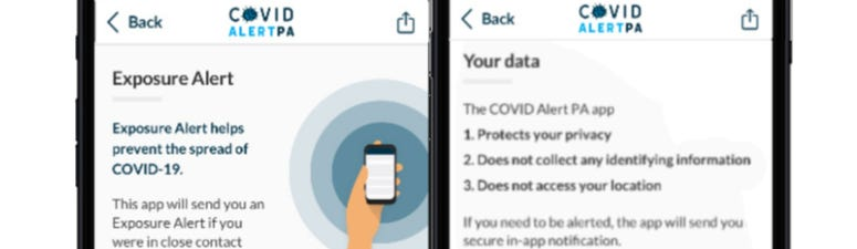 COVID Alert PA App