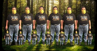 Many Johnny Lucases and many mini Johnny Lucases