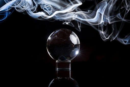smoky crystal ball
