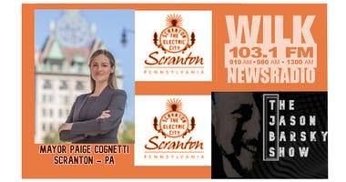 Scranton Mayor Logo Orange