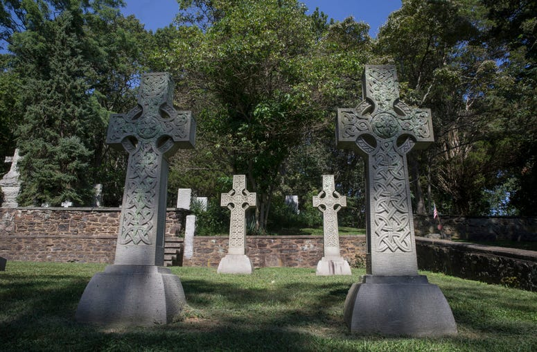 8/20/19The All Saint's Memorial Church in the Highlands of Navesink was founded in 1864. The church is in need of various repairs and is seeking help with the costs involved. The graveyard includes many unusual markers including many from the founding fam