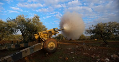 Syrian troops push into last rebel area, hit civilian sites