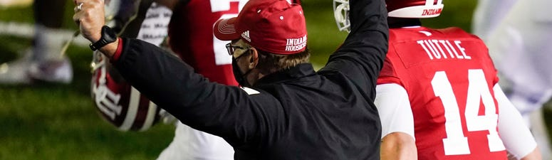 Indiana's OT gamble pay off in upset over No. 8 Penn State