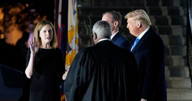 Barrett confirmed by Senate for Supreme Court, takes oath