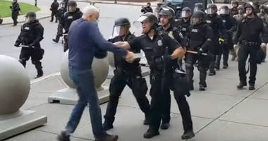 75-Year-Old Protester Pushed to Ground by Buffalo Police Released From Hospital