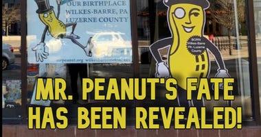 The fate of Mr. Peanut