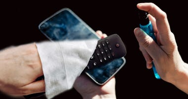 Sanitize Your Phone and Remote Control