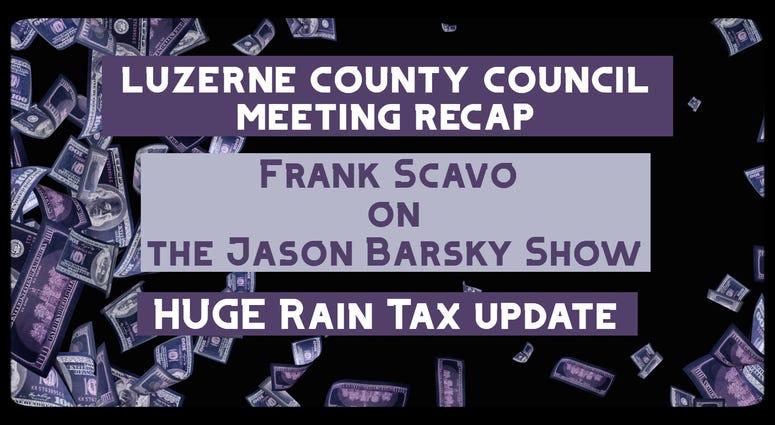 Rain Tax Update With Frank Scavo