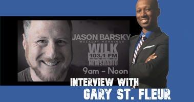 Gary St. Fleur on the Jason Barsky Show