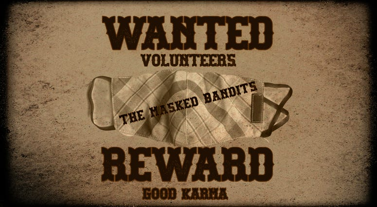 The Masked Bandits!