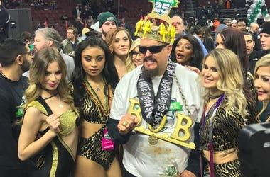 Notorious B.O.B wins Wing Bowl 25
