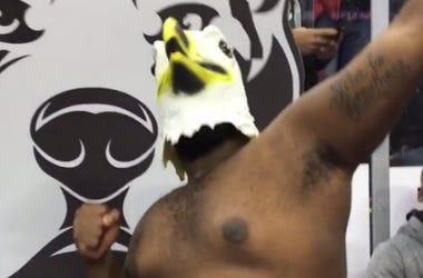 Black Eagle at Wing Bowl