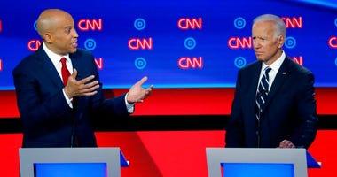 Booker, Biden