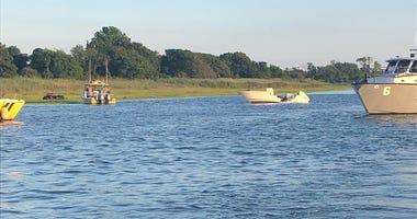 Long Island boat collision