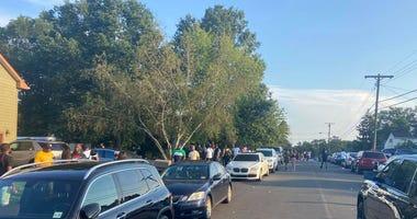 NJ police shut down pop up party