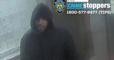 Man gropes punches robs woman Harlem
