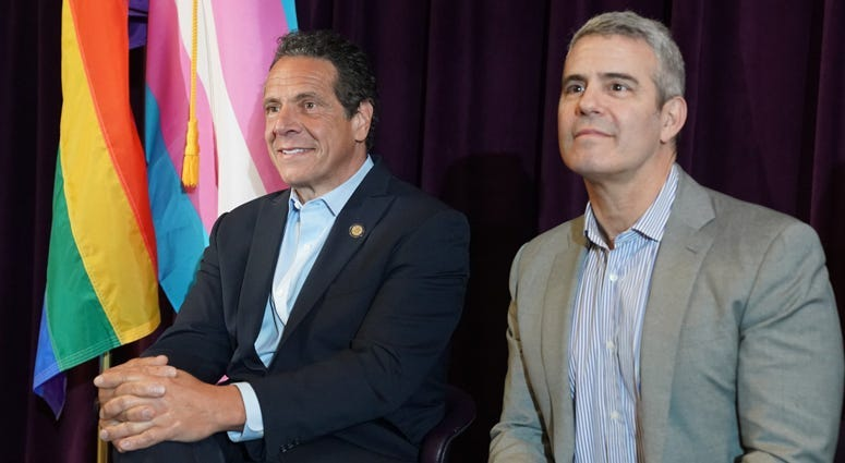 Andy Cohen Andrew Cuomo