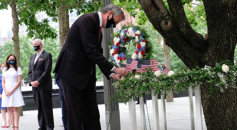 de Blasio 9/11 Memorial