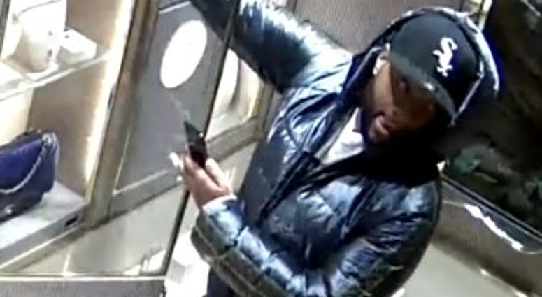Man wanted in Goop store robbery