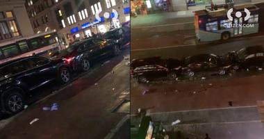 7 hit by cars Manhattan