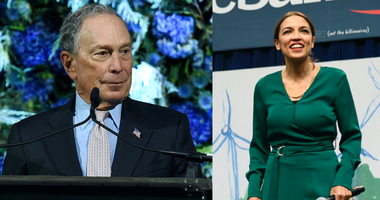 AOC and Mike Bloomberg