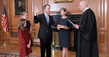 Kavanaugh Sworn In