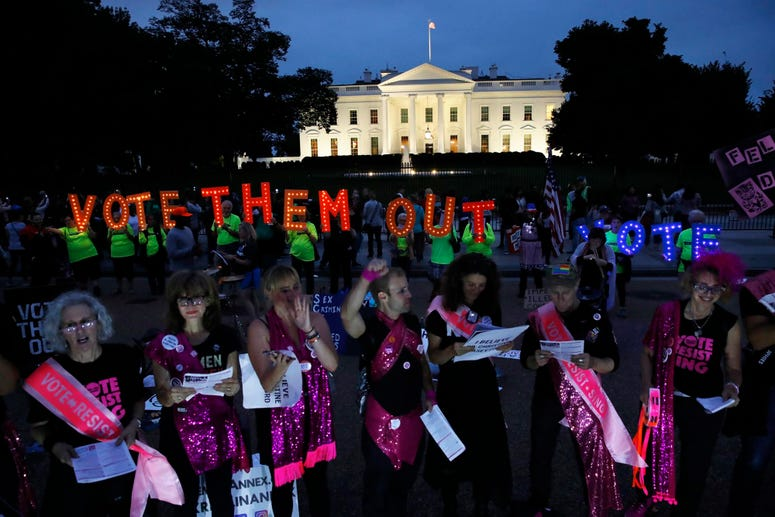 Protests White House