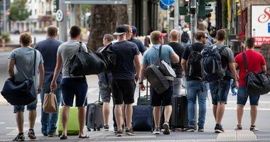 Germany bomb evacuation