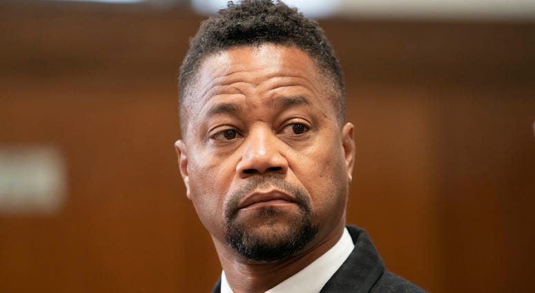 Cuba Gooding Jr in court