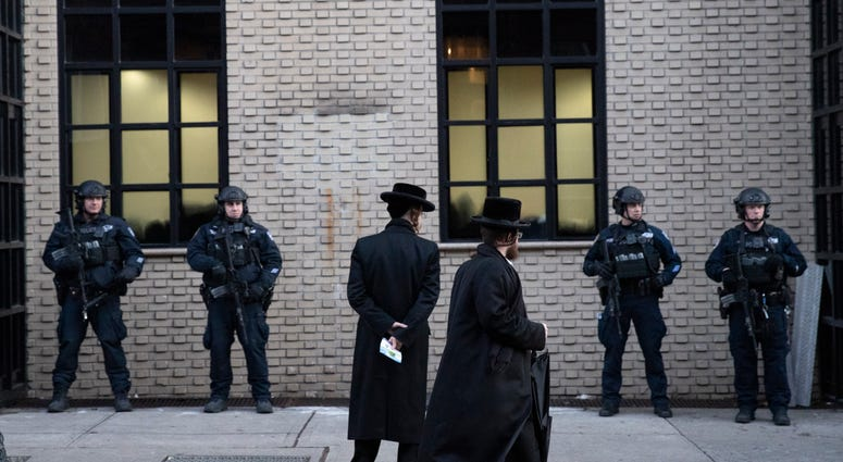 NYPD ups presence after spate of anti-Semitic attacks