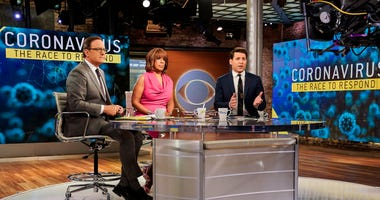 CBS shows co-hosts, from left, Anthony Mason, Gayle King and Tony Dokoupil