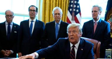 Trump signs stimulus bill