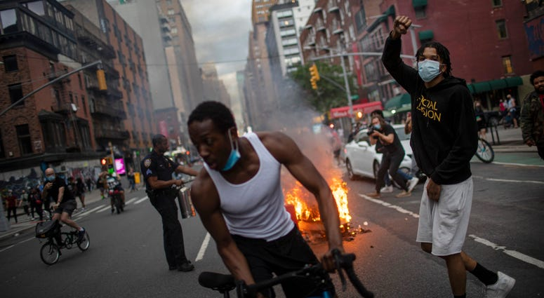 NYC protests over George Floyd enter 3rd day | 1010 WINS