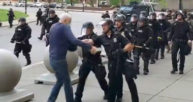 Buffalo protester
