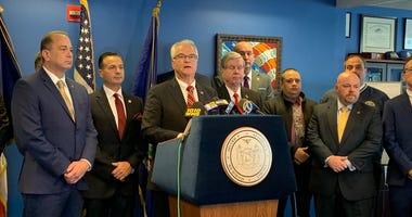Richmond County DA Michael McMahon speaks about bail reform
