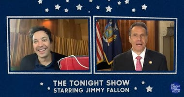 Andrew Cuomo on Jimmy Fallon